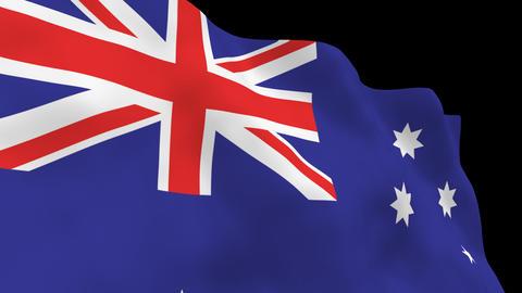 National Flag B14 AUS HD Animation