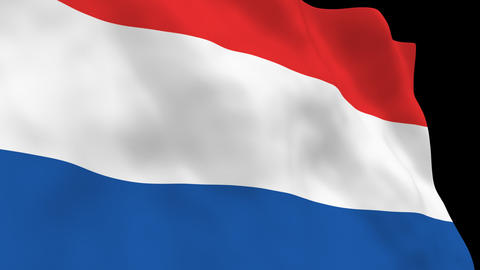National Flag B16 NED HD Animation
