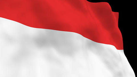 National Flag B22 IND HD Animation
