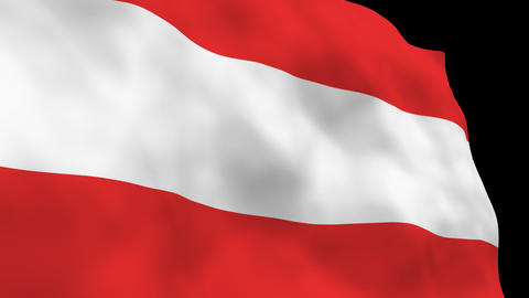National Flag B26 AUT HD, Stock Animation