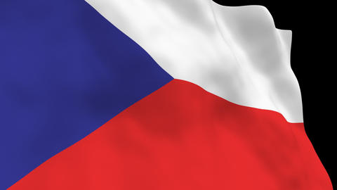 National Flag B40 CZE HD Animation