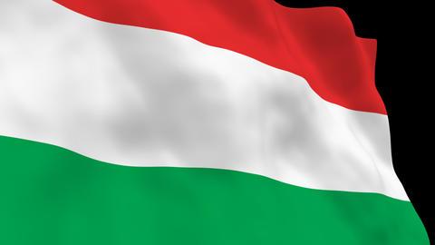 National Flag B46 HUN HD Animation