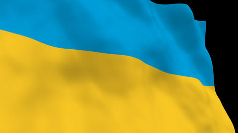 National Flag B48 UKR HD Animation