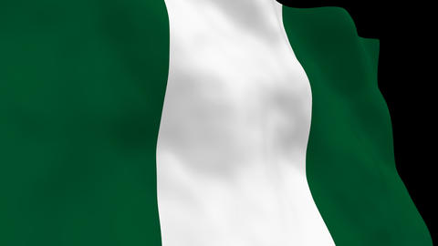 National Flag B50 NGR HD Animation