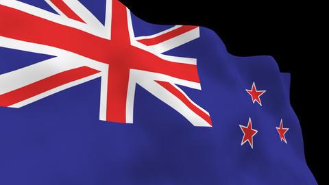 National Flag B52 NZL HD Animation