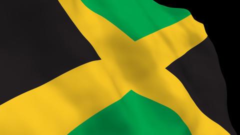 National Flag B70 JAM HD Stock Video Footage