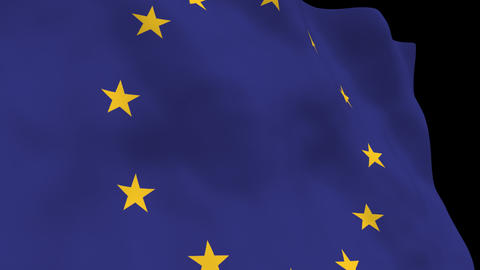 National Flag B72 EUR HD Animation