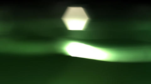 Nature greenish fluid flow Animation