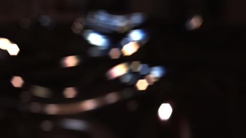 Light Pendulum Stock Video Footage