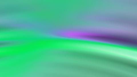 Green Purple Waves Stock Video Footage