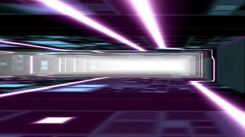 furturistic rays CG動画素材