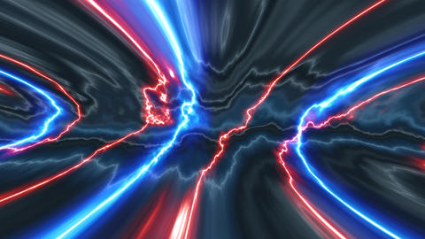 electric waves Stock Video Footage