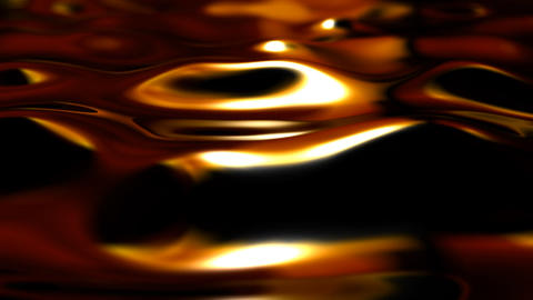 orange ripples Stock Video Footage