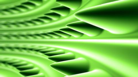 green organic tunnel Stock Video Footage