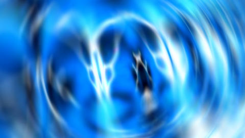 blue organic abstract Stock Video Footage