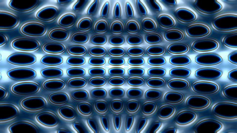 organic grid Animation