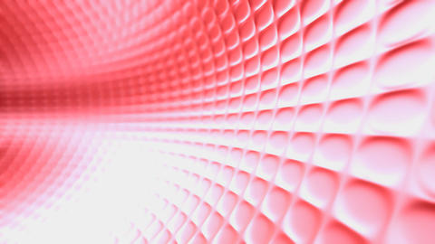 red running tunnel Animation