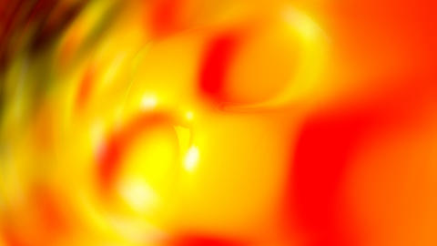 orange circles wall Stock Video Footage
