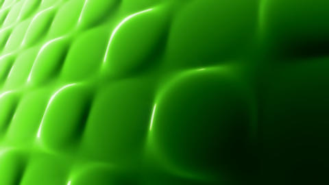 green molten squares Stock Video Footage