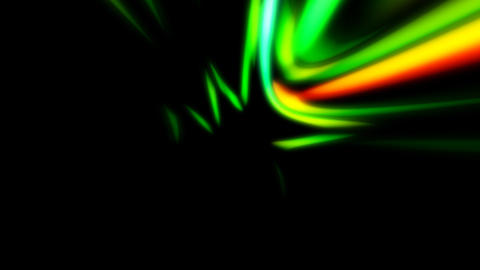 colourful curves in motion Stock Video Footage