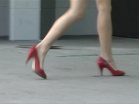 Alina's Luscious Legs Stock Video Footage