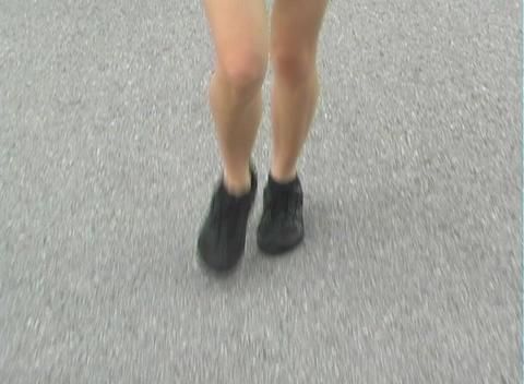 Beautiful Woman Jogging (5) Stock Video Footage