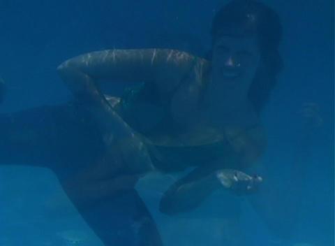 Alina Underwater 10 Stock Video Footage
