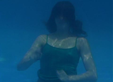 Alina Underwater 12 Stock Video Footage