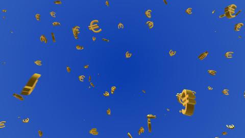 Money Euro 3 c HD Stock Video Footage