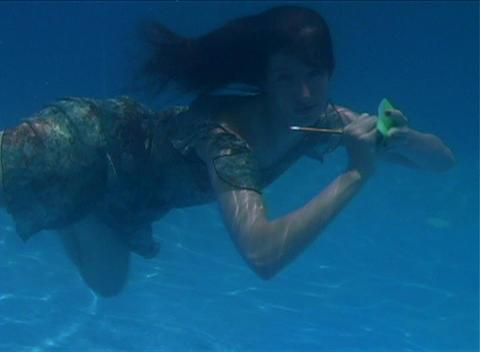 Alina Underwater 4 Footage