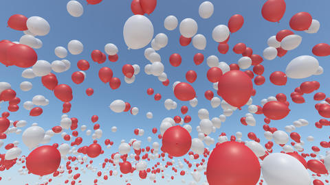 balloon 2 aa HD Stock Video Footage
