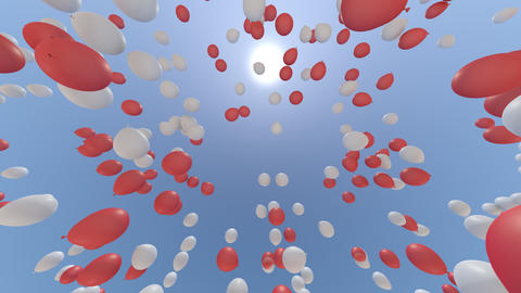 balloon 2 ca HD Stock Video Footage