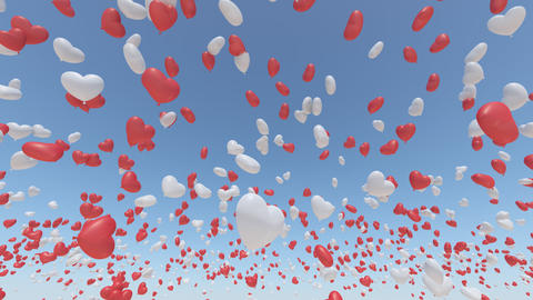 balloon 2 h aa HD Stock Video Footage