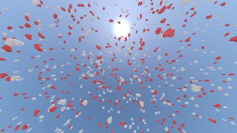 balloon 2 h ca HD Stock Video Footage