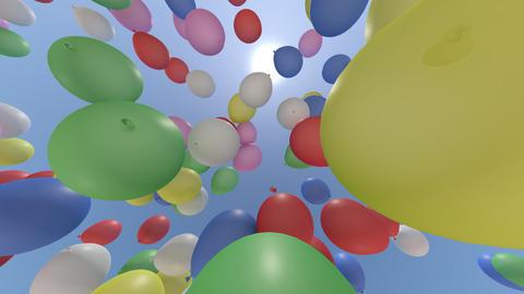 balloon cb HD Stock Video Footage