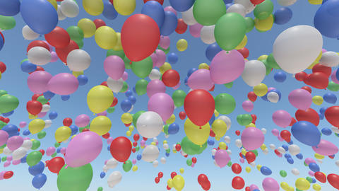 balloon ab HD Stock Video Footage