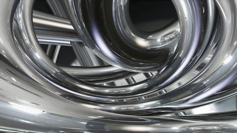 Chrome Metal Ta d HD Stock Video Footage