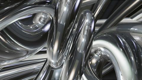 Chrome Metal Tb d HD Animation