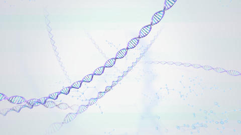 DNA A HD Animation