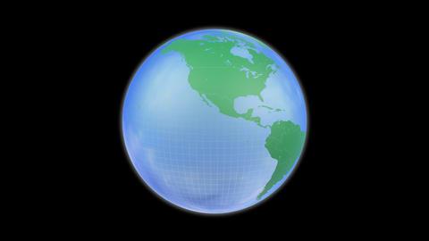 Earth A c B HD Animation