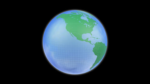 Earth A c B HD Stock Video Footage