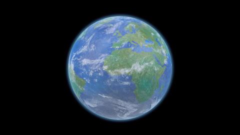 Earth E d B HD Stock Video Footage