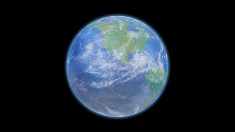 Earth E d B HD Animation