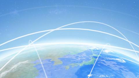 Earth net k B HD Animation