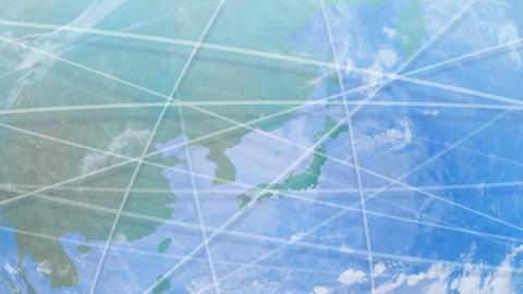 Earth net k D HD Stock Video Footage