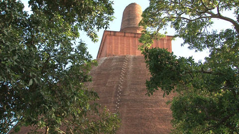 Jetavana stupa in Anuradhapura, Sri Lanka Stock Video Footage