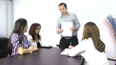 Business Presentation Stock Video Footage
