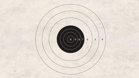 shooting target automatic gun Stock Video Footage