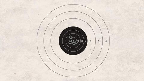 shooting target focus Stock Video Footage