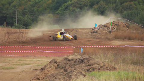 Autocross Buggy Stock Video Footage